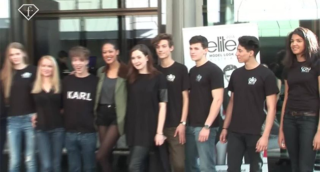 Elite Model Look Austria Casting at FashionTV Café