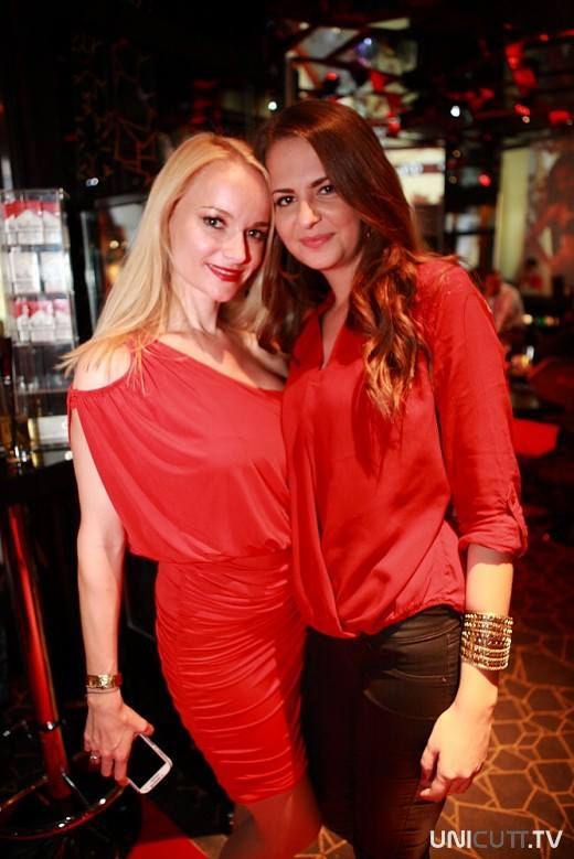 Keep calm and dance in RED at FashionTV Café
